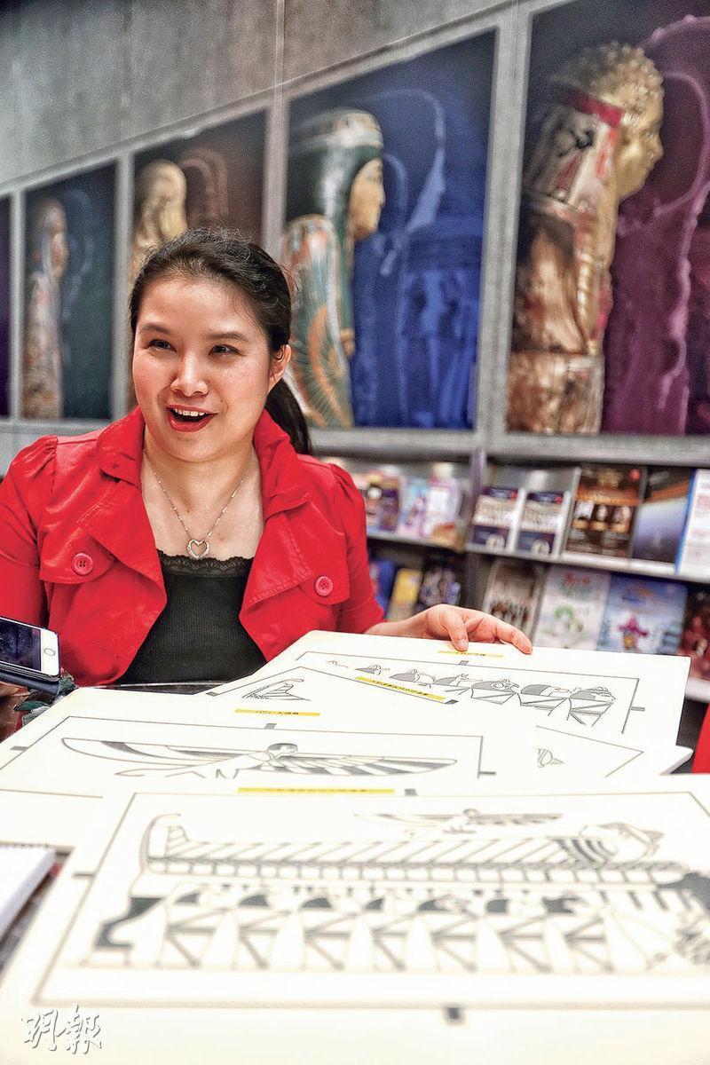 博物館蘊藏知識與文明,視障者卻難以欣賞展品。香港口述影像協會行政總監梁凱程(圖)盼推動博物館共融及無障礙文化,透過口述影像團豐富視障者的知識。(郭慶輝攝)
