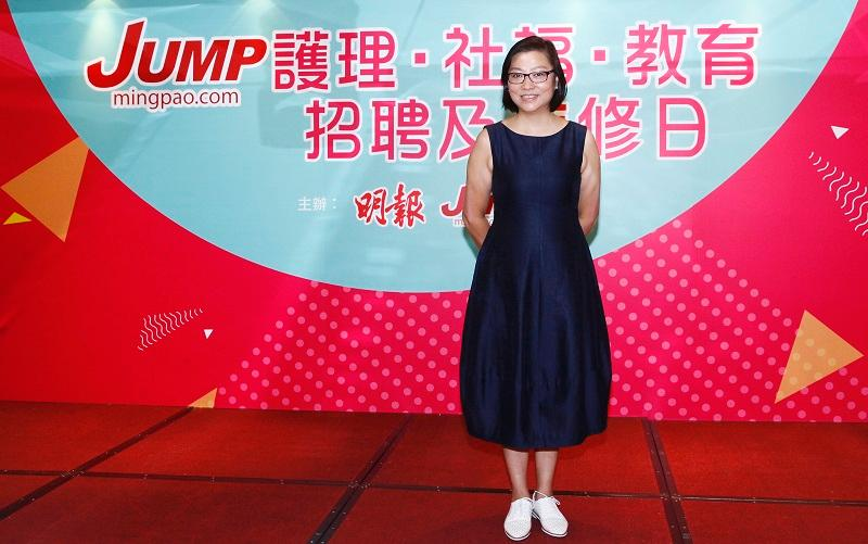 香港職業發展服務處資深培訓導師周志春 (Shirley)