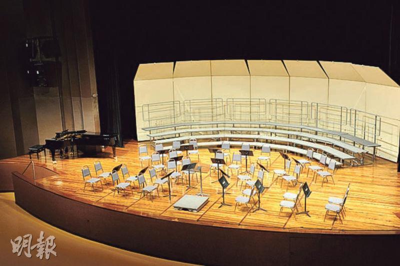 浸大大學會堂可設1346座位,會租出供舉行古典音樂表演、流行音樂會等用途,日本女星酒井法子明年1月也會在此舉行音樂會。(浸大網頁)