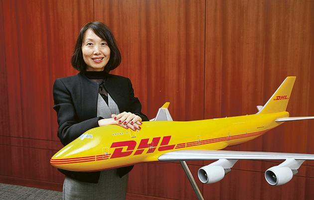 DHL Express 香港財務及行政處副總裁盧茸(Sherry)