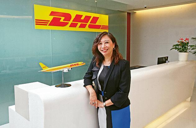 DHL Express 香港顧客帳務總監呂慧嫻