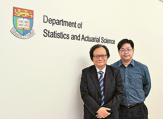 左起:李偉強教授、鍾玉嘉博士