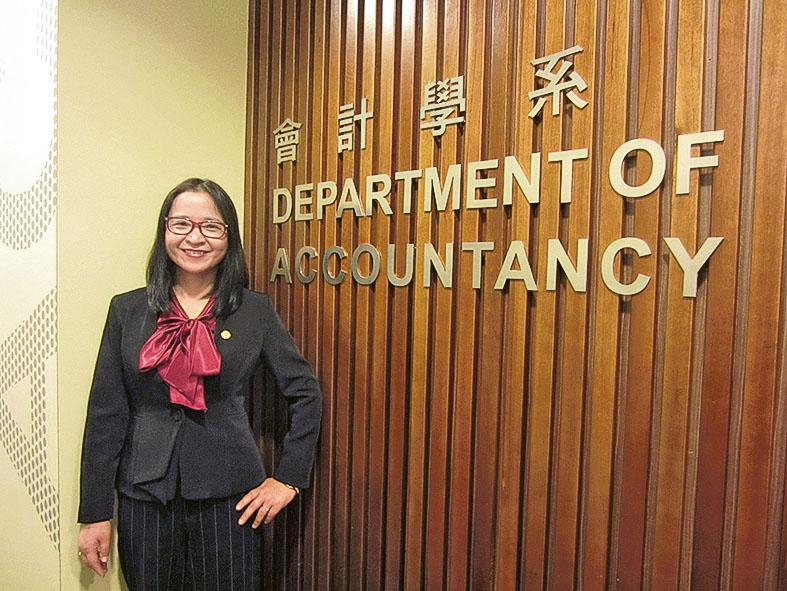 嶺南大學會計學系會計學碩士課程主任及會計學深造文憑課程主任史珊珊