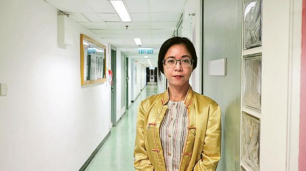 浸大生物系「環境及公共衛生管理理學碩士」課程主任鍾姍姍博士