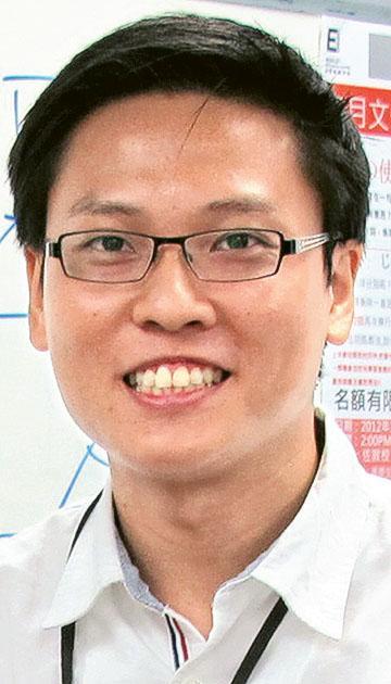 日經日本語學校教務部主管Vincent Chung