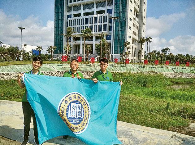 學院參與中國首艘貨運飛船「天舟一號」太空生命科學研究,是唯一參與在貨運 飛船上進行的科學實驗的大陸境外院校。