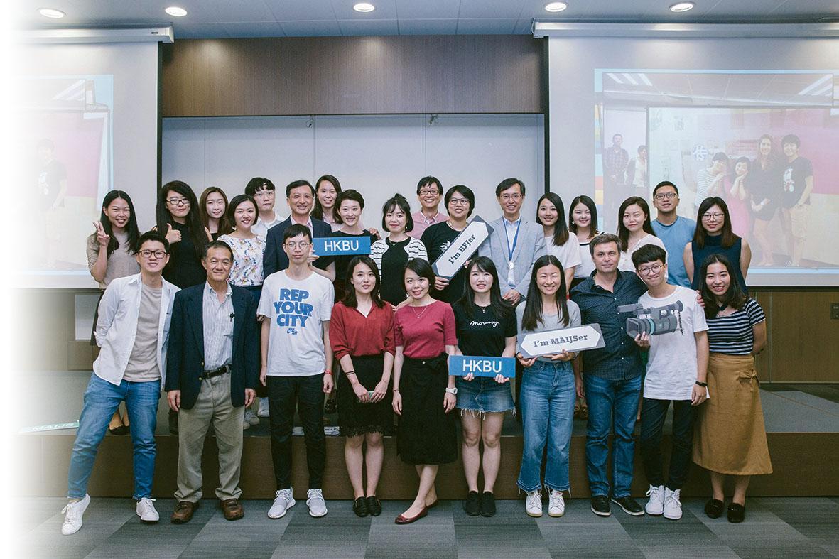 國際新聞文學碩士課程慶祝開辦10 周年,同時也慶祝2018 年為傳理學院創建50 周年。