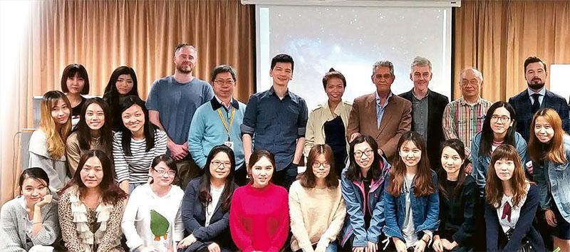 「全球社會研究文學碩士」課程每年都會邀請海外講者與學生分享全球社會發展課題。
