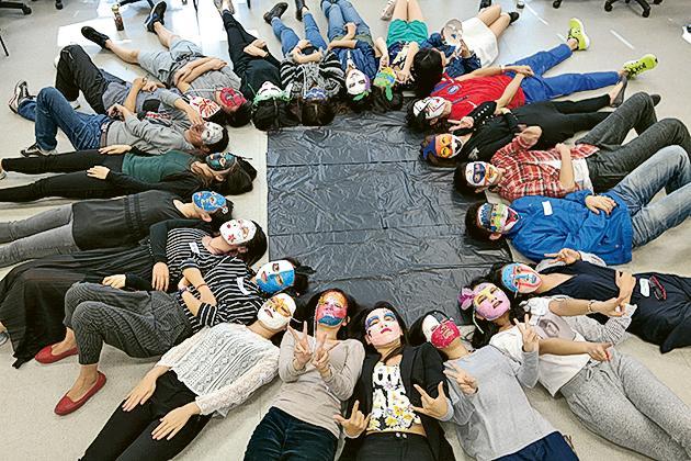除了一般課堂外,社會科學碩士「青年輔導學」課程亦常以不同活動形式學習。