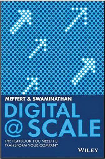 Digital @ Scale引述麥肯錫案例——本書介紹3個最主要的數碼化轉型的支柱:商業模式的更新;以客戶為起點重新設計一個有競爭力的組織架構;建立一個小而善於應變的IT部門,不停的改進,一步一步做到業務根本性轉型。書中包含50多個麥肯錫的案例與數據,幫助讀者開闊眼界和思維。(網上圖片)