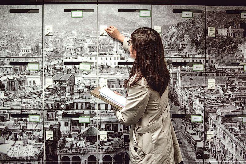 個人儲物櫃——員工有個人儲物櫃(闊412毫米×長378毫米×高383毫米),放文件及私人物品。(圖:馮凱鍵)