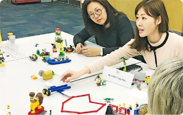 助個人成長——透過砌LEGO,不單能改善團隊溝通及合作,對個人成長及發展,也有意想不到的效果。(圖:受訪者提供)