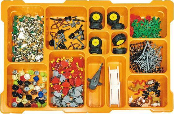 積木比喻——LEGO Serious Play用到的配件比坊間的款式更豐富,方便大家以各種積木象徵和比喻不同事物。(圖:受訪者提供)