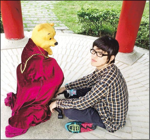 憑住這張放上社交網站「呃like」照片,陳棨豪成功在芸芸參加者中突圍而出,晉身決賽。(相片由受訪者提供)