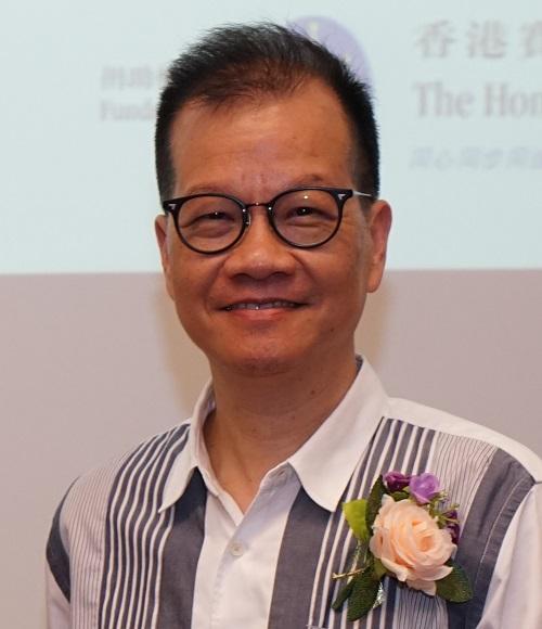 明愛白英奇專業學校社會科學系系主任朱昌熙博士