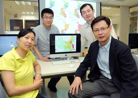 浸大教授利用數據分析建立 H7N9 禽流感病毒擴散模型評估傳播風險。