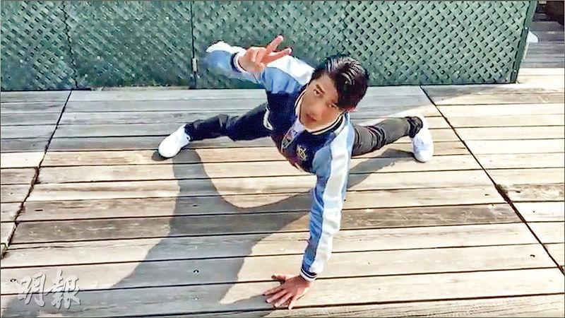 明星效應——影星郭富城(圖)及梁家輝參與單手掌上壓挑戰,即時令全城關注,但亂做有可能傷及肩關節。(資料圖片)