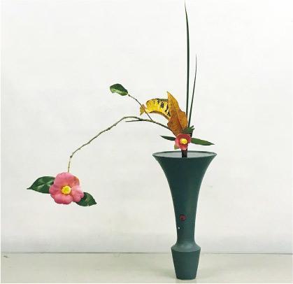 當初的感動——Verdy一直懷着當初看花的那份感動來插花。