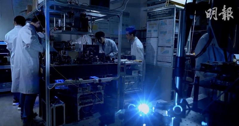 港大工學學士(生物醫學工程)研究團隊。(港大提供相片)