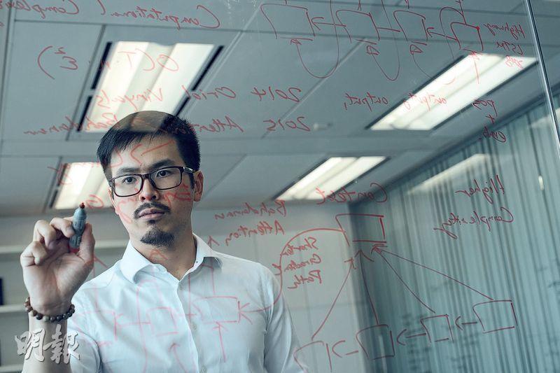 入行數月獲晉升——朱天行(Hugo)2016年到倫敦大學學院 (UCL)修讀碩士課程,畢業後加入初創公司Kami擔任AI工程師,入行數月已獲晉升。為免泄露資訊給獵頭公司,薪酬多少他絕口不提。(圖:馮凱鍵)