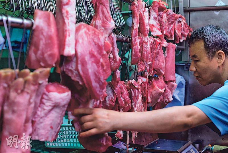 港大地球科學系研究發現,港人嗜吃肉類,會令碳排放增加,加劇溫室效應,認為只要改變飲食習慣,即可大幅減少溫室氣體排放。(鄧宗弘攝)