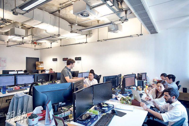 Privé辦公室採用開放式設計,有助打破同事間的隔膜。(圖:鄧宗弘攝)