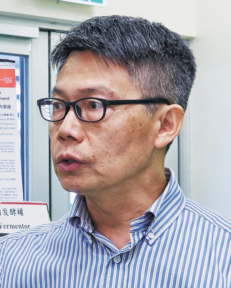香港高等教育科技學院建築科技與工程學系教授及系主任潘國良
