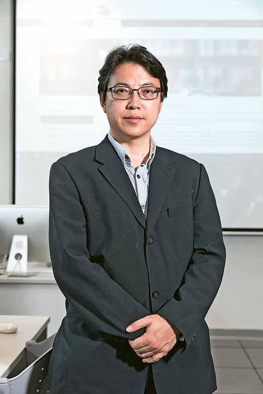 資訊科學系系主任盧葦麟教授
