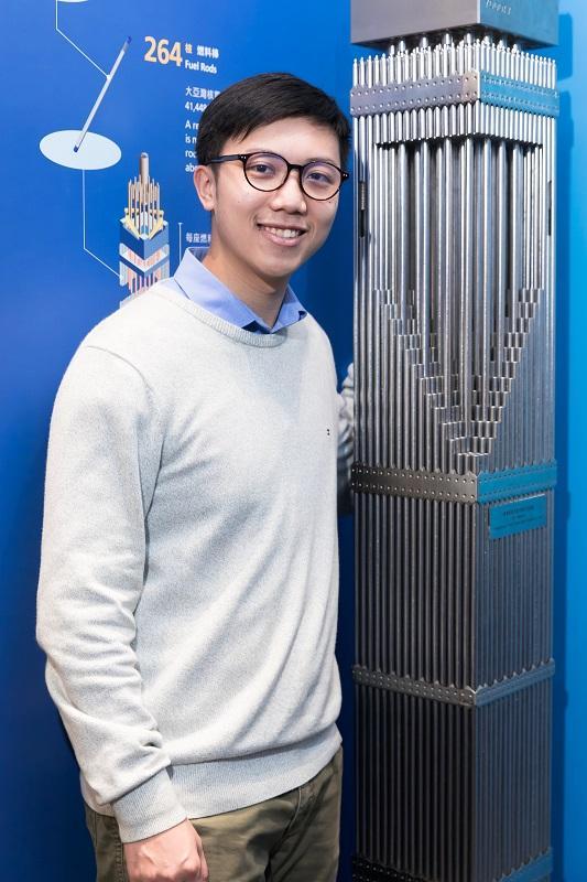 香港城市大學「工學士 (核子及風險工程)」課程畢業生陳沛銘 (Daniel)