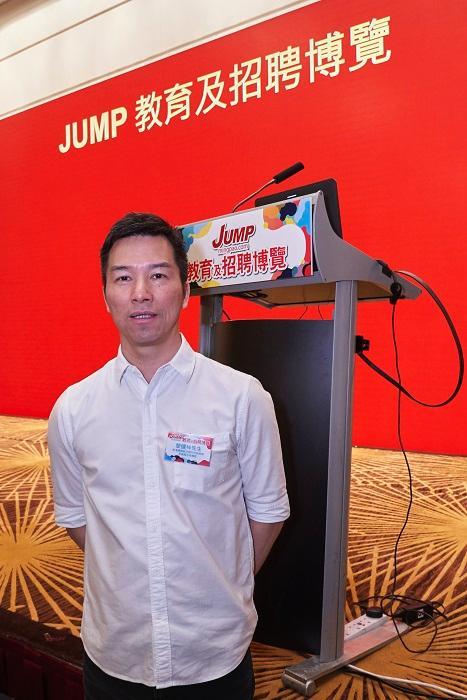 香港國際航空學院市務推廣及商務合作總監黎健坤