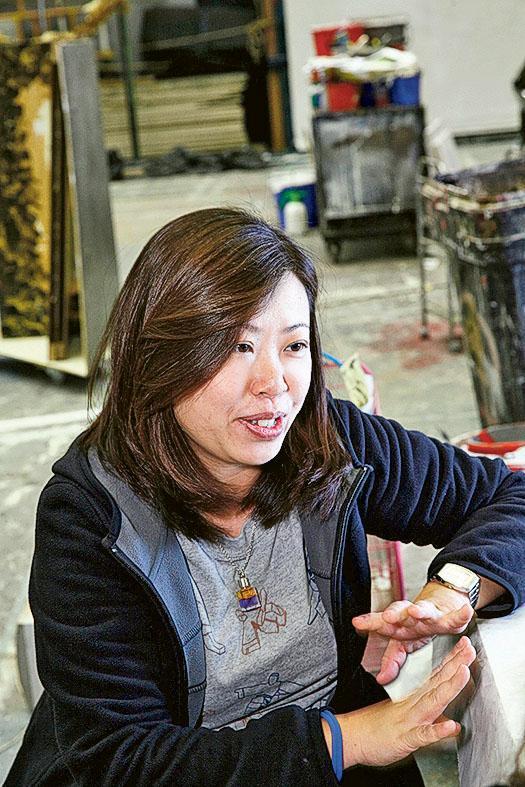 香港演藝學院舞台及製作藝術精研課程統籌盧樂然 Jackie