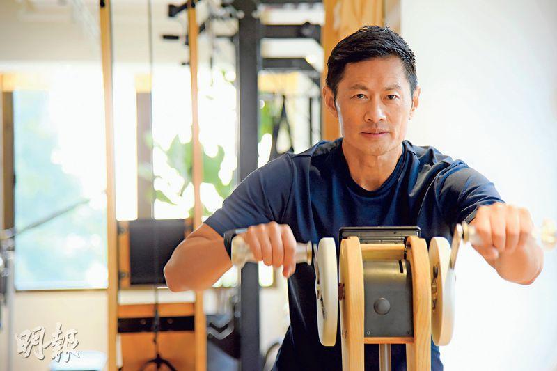 對黃德斌來說,運動最吸引他的,不單是追求健碩外表,更是過程中能夠帶來快樂。(黃志東攝)