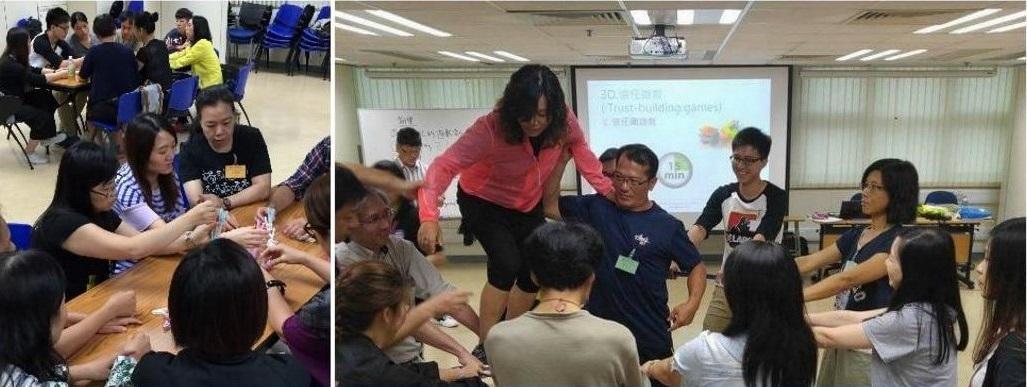 近年愈來愈多醫護、社福、教育、企業培訓等人員,學習遊戲帶領及解說技巧,以運用於助人過程中。