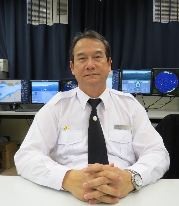 海事訓練學院 (MSTI) 首席教導員黃立華