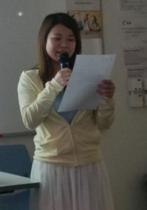 李敏兒表示,進修使她學會多角度思考,裝備更多社工工作知識和技巧,進一步成為專業社工。(圖由受訪者提供)