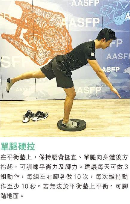 資料來源: 註冊物理治療師楊嘉敏 (明報製圖)