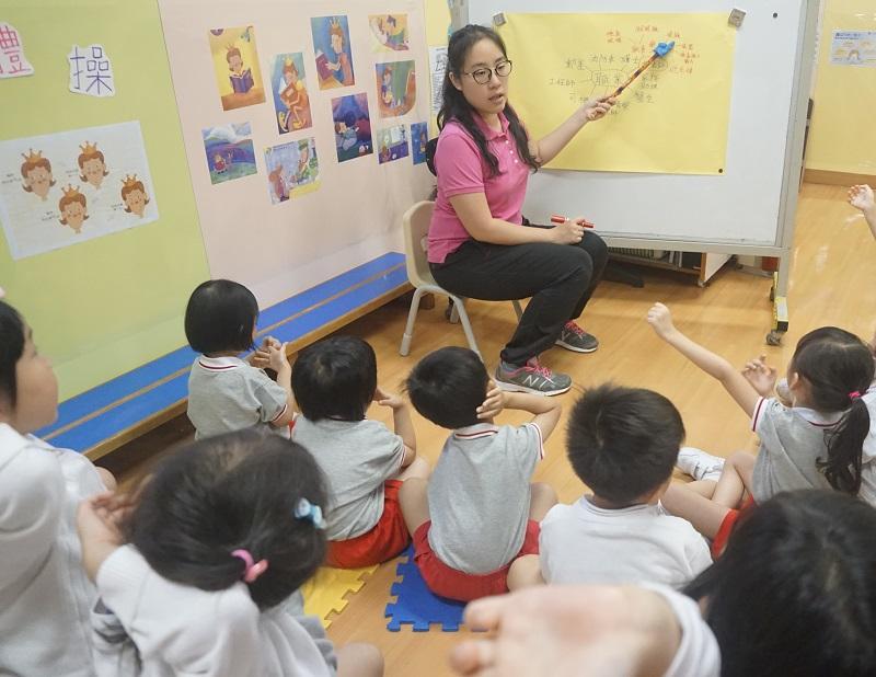 陸娟儀主任認為,入職幼兒教育工作者需具備愛心、耐性,還要有敏銳的觀察力,以及早識別幼兒的多元學習需要。(相片由受訪者提供)