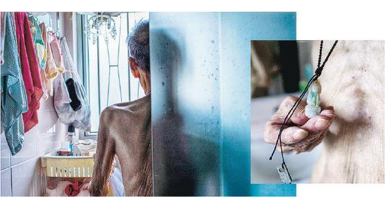 晚期病者處境——展覽另邀請電影工作者陳巧真及徐智彥參與,他們以影像表達晚期病者處境。(受訪者提供)