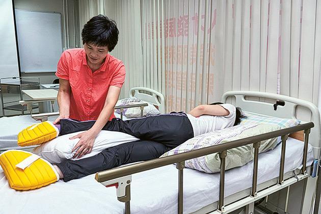 李巧蘭剛於今年9月成功考取香港護士管理局的註冊護士資歷。