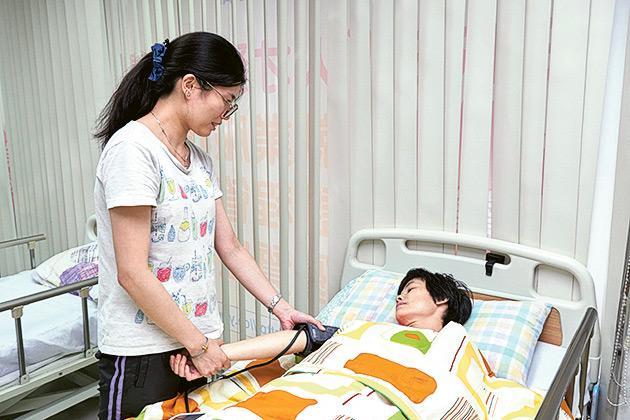 楊曉霞已訂下繼續進修的目標,希望能晉升為「一級病人服務助理」(PCA1)