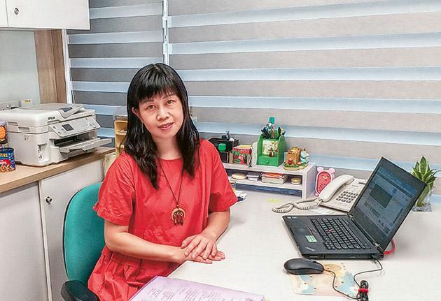 東華三院王澤森長者地區中心綜合家庭照顧服務隊主任陳詠慧