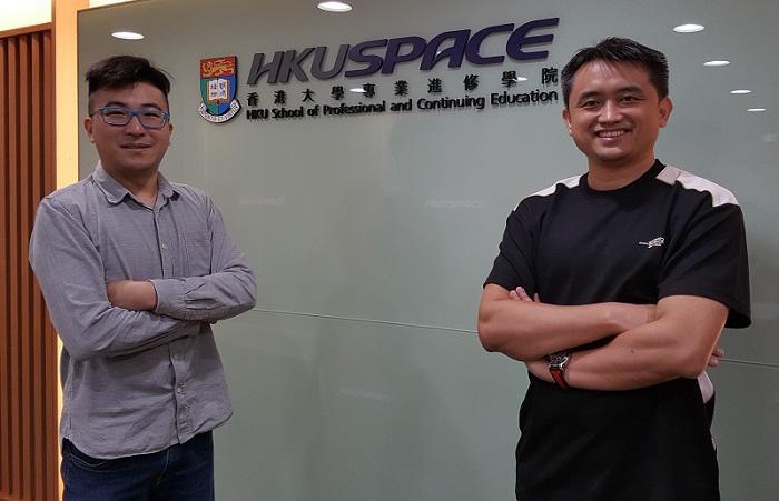 右起:香港大學專業進修學院電競課程中心總監周嘉明博士(Jimmy)、副總監陸傳傑博士 (Ken)