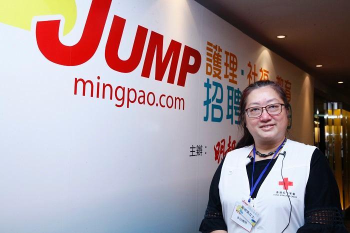香港紅十字會訓練幹事鄺頴儀