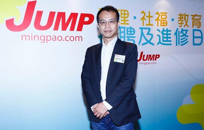 香港撒瑪利亞防止自殺會總幹事曾展國
