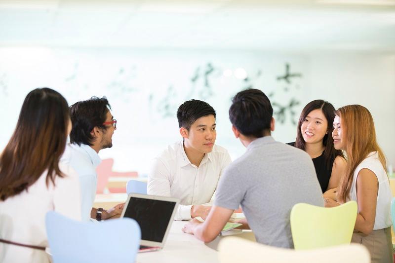 大專院校是未來社會的縮影,學習專業技能以外,大專生亦要學習如何與人相處、合作,培養職場所需的溝通、表達、協作、領導等軟技能。(相片由香港中文大學提供)