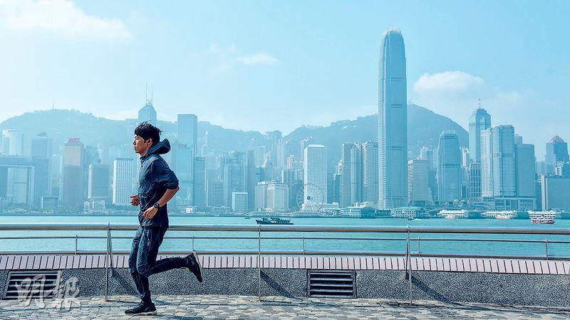成為全職跑手後,今年28歲的川內鮮輝說要朝着更遠大的目標進發,希望能夠成為100公里超馬賽事的世界第一。(黃志東攝)