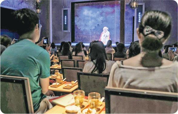 茶館劇場——西九戲曲中心今年五月於茶館劇場安排試演。(戲曲中心提供)