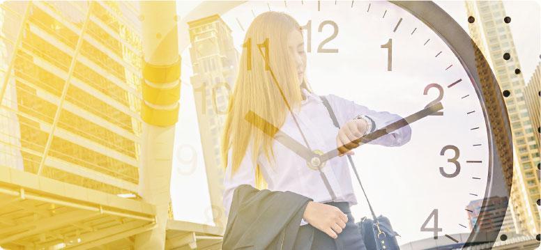 善用時間——會計從業員經常需要外出工作,若給予多一點自由與彈性,有助員工善用與分配時間,工作更有效率。(Thampapon@iStockphoto)