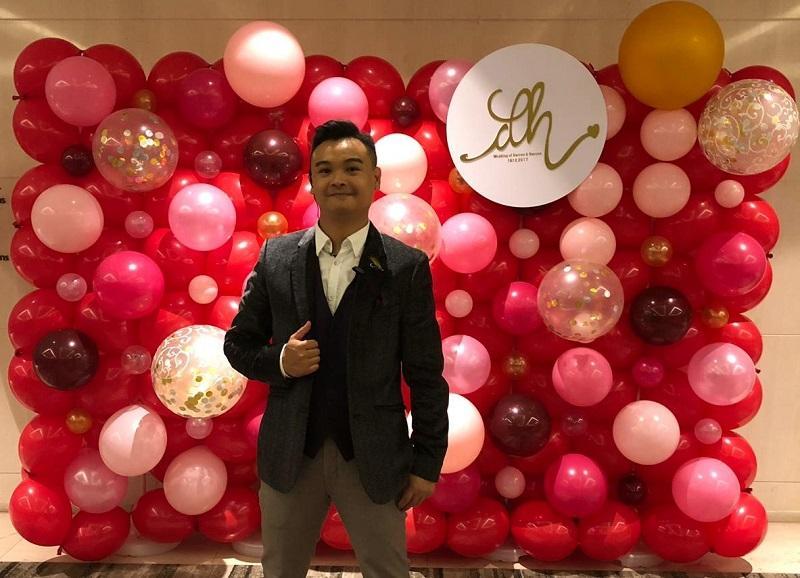 氣球師兼基督教香港信義會天恩培訓及發展中心「創意氣球製作基礎證書」課程導師吳皓賓 (Kenneth)
