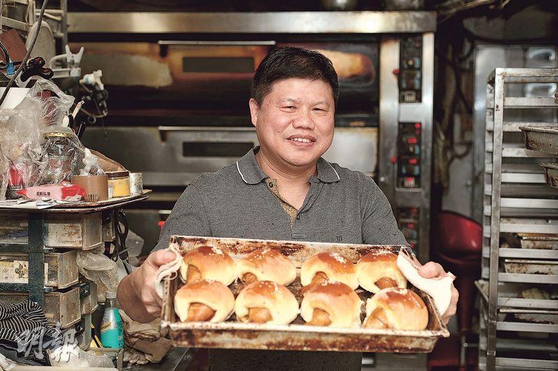 麵包高手——鍾振明:協香麵包西餅老闆(蘇智鑫攝)